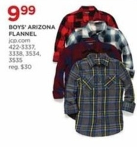 Boys' Arizona Flannel
