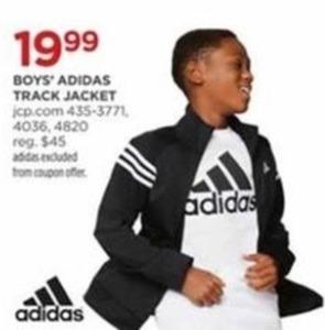 Boys' Adidas Track Jacket