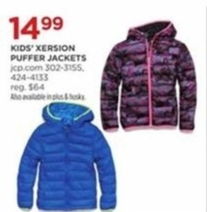Kids' Xersion Puffer Jackets