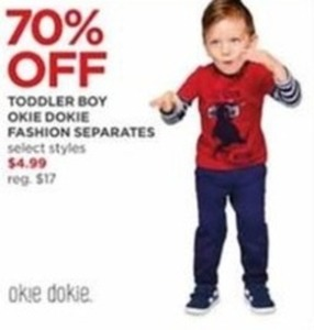 Toddler Boy Okie Dokie Fashion Separates