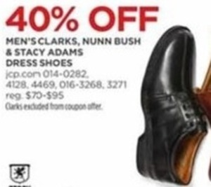 Men's Clarks, Nunn Bush & Stacy Adams Dress Shoes