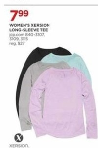 Women's Xersion Long Sleeve Tee