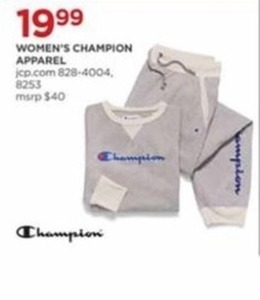 Women's Champion Apparel