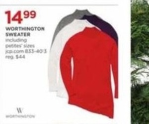 Women's & Petites' Worthington Sweater