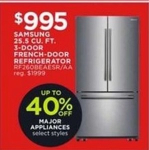 Samsung 25.5 Cu. Ft. 3-Door French Door Refrigerator