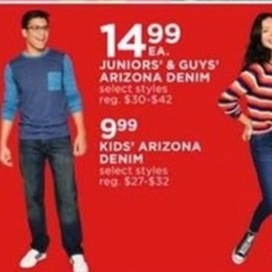 Juniors' & Guys' Arizon Denim