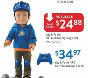 My Life As 18 Outdoorsy Boy Doll