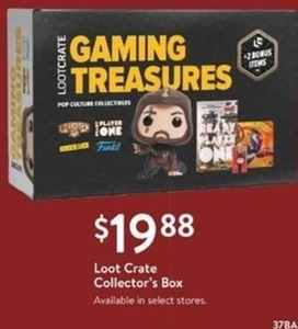 Loot Crate Collector's Box