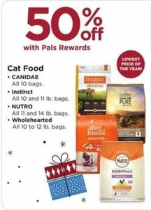 Canidae, Instinct, Nutro, Wholehearted Cat Food Bags