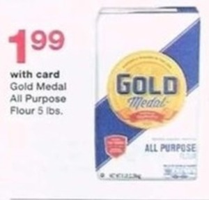 Gold Medal All Purpose Flour 5 Ibs. - With Card