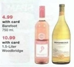 Woodbridge 1.5 Liter Wine w/Card