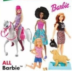 All Barbies