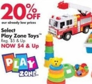 Select Play Zone Toys