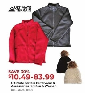 Ultimate Terrain Outerwear & Accessories for Men and Women
