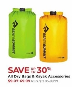 All Dry Bags & Kayak Accessories