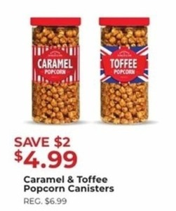 Caramel Toffee Poror Popcorn
