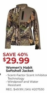 Women's Habit Softshell Jacket