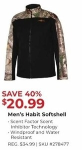 Men's Habit Softshell