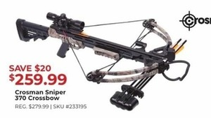 Crosman Sniper 370 Crossbow