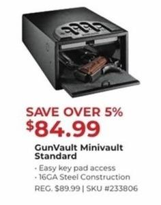 GunVault Minivault Standard