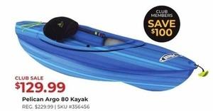 Pelican Argo 80 Kayak
