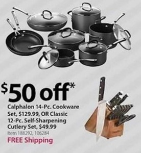 Calphalon 14 Pc. Cookware Set