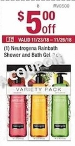 Neutrogena Rainbath Shower and Bath Gel