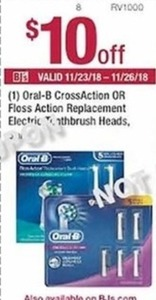 Oral-B Floss Action Replacement Electric Toothbrush Heads