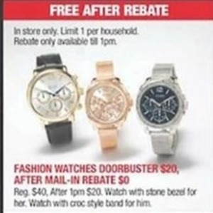 After Rebate - Fashion Watches