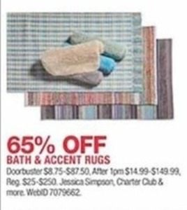 Bath and Accent Rugs