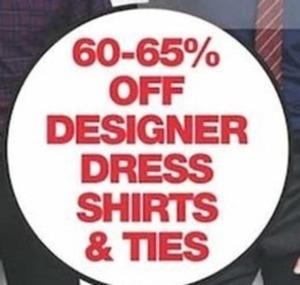Designer Dress Shirts and Ties