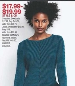 Style Co Sweaters 1799 1999 At Macys On Black Friday
