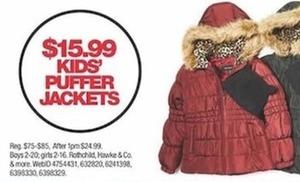 Kids Puffer Jackets