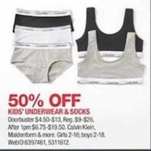 Kids' Underwear & Socks