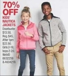 Kids' Nautica Jackets