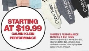 Calvin Klein Performance Women's Hoodies & Bottoms
