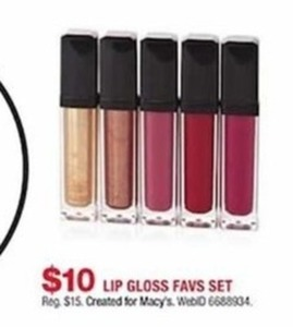 Lip Gloss Favs Set