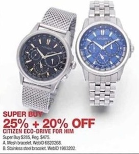 Citizen Eco-Drive Watch for Him