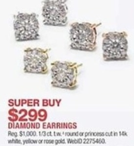 Select Diamond Earrings