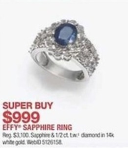 Effy Sapphire Ring
