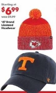 '47 Brand Licensed Headwear
