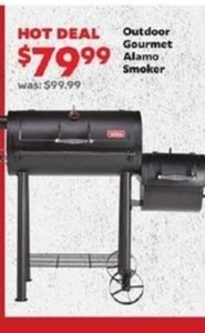 Outdoor Gourmet Almo Smoker
