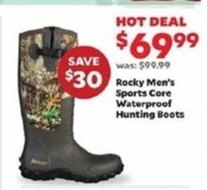 Rocky Men's Sports Core Waterproof Hunting Boots