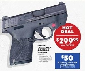 Smith & Wesson M&P Shield M2.0 Handgun