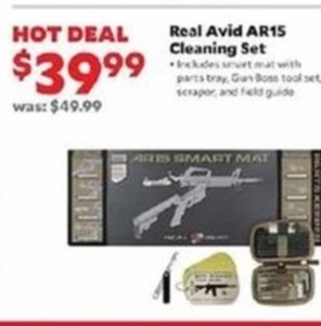 Real Avid AR15 Cleaning Set