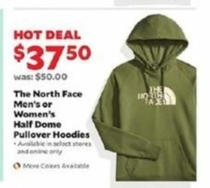 The North Face Men's or Women's Half Dome Pullover Hoodies