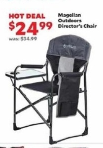 Magellan Outdoors Director's Chair