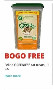 Feline Greenies Cat Treats 11 Oz