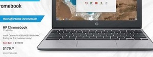 HP Chromebook N3060 4GB 16GB eMMC