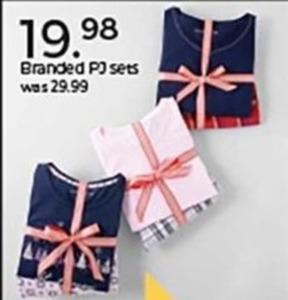 Branded PJ Sets